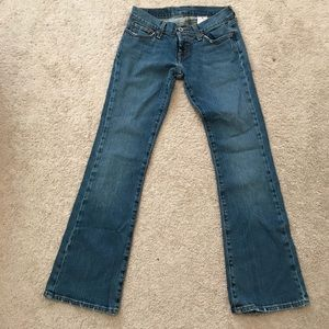 Lucky Brand Lil' Maggie Jeans size 24 Short NEW